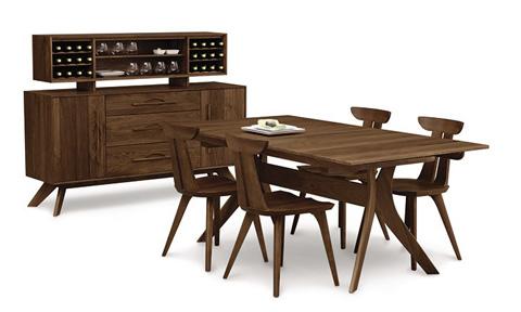 Copeland Furniture - Audrey Bench - Walnut - 8-AUD-06-04