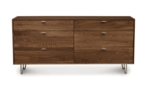 Copeland Furniture - Canto Six Drawer Dresser - 2-CAN-60