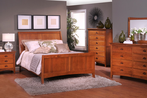 Country View Woodworking, Ltd - Six Drawer Chest - 100-520
