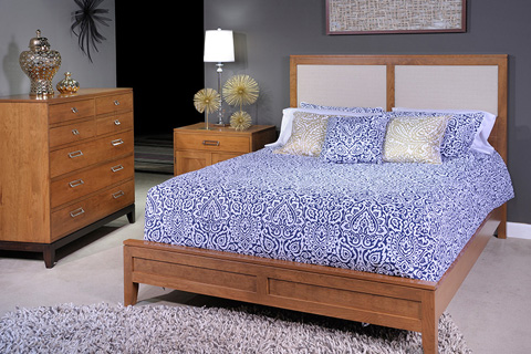 Country View Woodworking, Ltd - One Drawer, Two Door Nightstand - 400-502