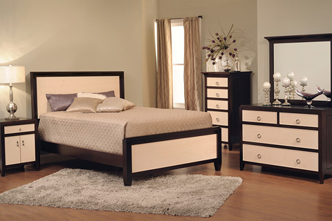 Country View Woodworking, Ltd - Queen Straight Bed - 50-2002Q