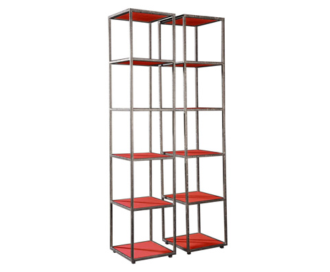 Curate by Artistica Metal Design - Iron Etagere - C206-820