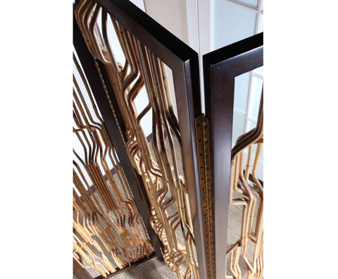 Curate by Artistica Metal Design - Four Panel Screen - C401-001