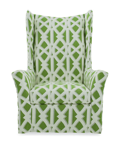 C.R. Laine Furniture - Slipcover Swivel Chair - 1335-SW-SC