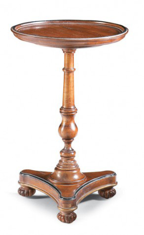 CTH-Sherrill Occasional - Round Pedestal Side Table - 730-910