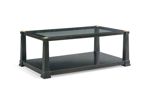 CTH-Sherrill Occasional - Rectangular Cocktail Table - 964-604