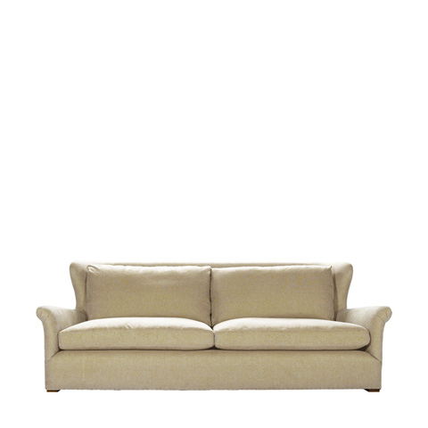 Curations Limited - Beige Linen Winslow Sofa - 7842.1107.A015