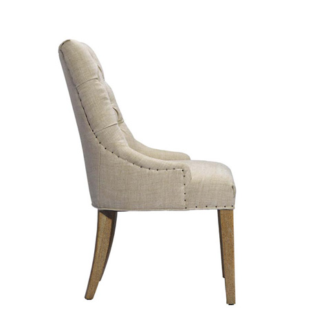 Curations Limited - Beige Albert Arm Chair - 8826.1006.A015