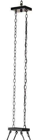 Currey & Company - Houndslow Rectangular Chandelier - 9816