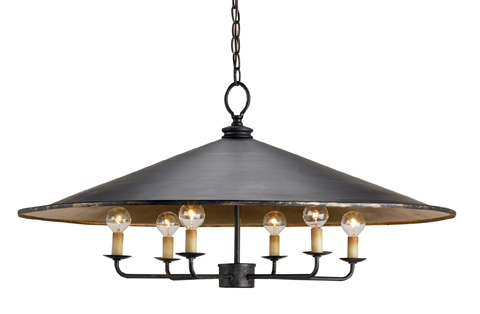 Currey & Company - Brussels Pendant - 9873