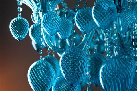 Cyan Designs - Aqua Chianti Chandelier - 04618