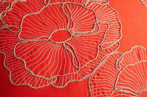 Cyan Designs - Petunia Pillow - 06523