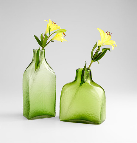 Cyan Designs - Large Marine Green Vase - 06683