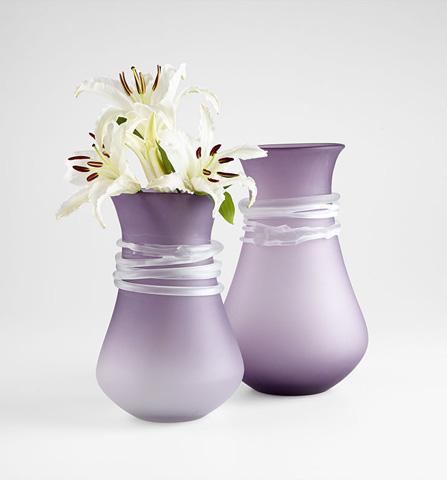 Cyan Designs - Small Purple Rain Vase - 06684