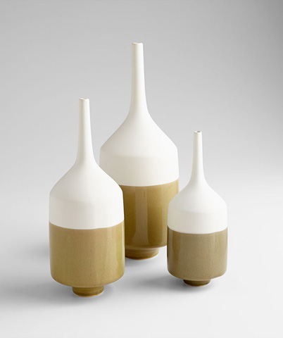 Cyan Designs - Large Groove Line Vase - 06888