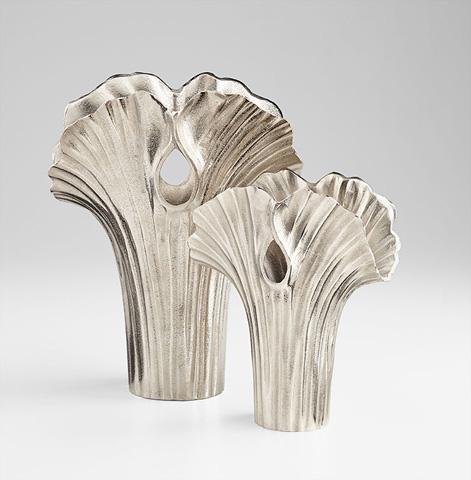 Cyan Designs - Large Alloy Palm Vase - 07085