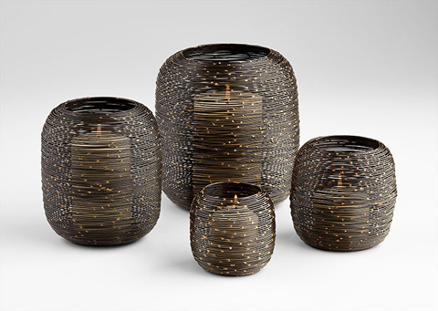 Cyan Designs - Extra Large Spinneret Candleholder - 07132