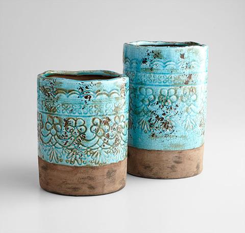 Cyan Designs - Small Geneva Vase - 07390