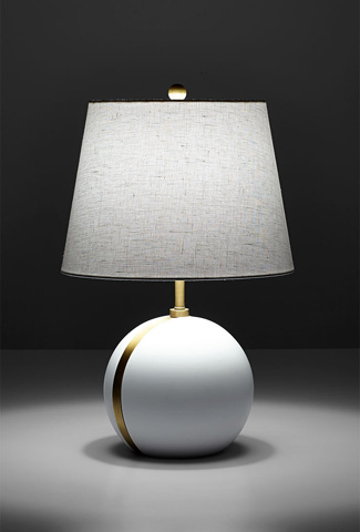 Cyan Designs - Snow Moon Table Lamp - 07963