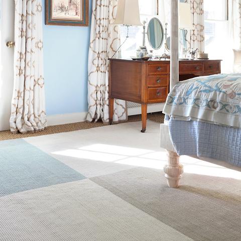 Dash & Albert Rug Company - Bo Blue Woven Cotton Rug - RDA405-58