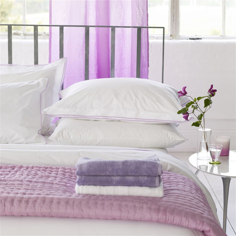 Designers Guild - Astor Crocus Queen Duvet Cover - BEDDG133