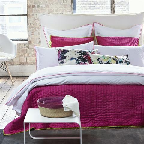 Designers Guild - Astor Peony/Pink Queen Duvet Cover - BEDDG0774