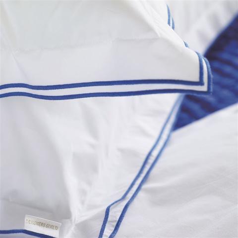 Designers Guild - Astor Cobalt King Flat Sheet - BEDDG118