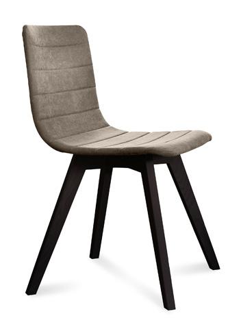 Domitalia - Flexa Side Chair - FLEXA.S.0KS.LAS.8IV