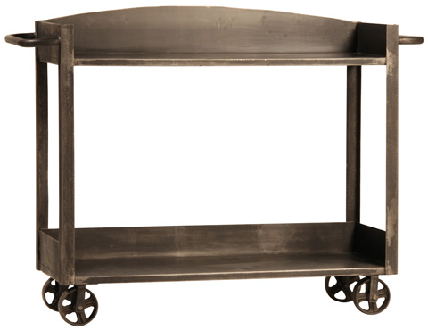 Dovetail Furniture - Connolly Iron Trolley - AH002