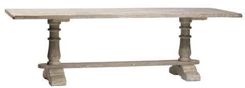 Dovetail Furniture - 7' Talbot Dining Table - DOV2507-7