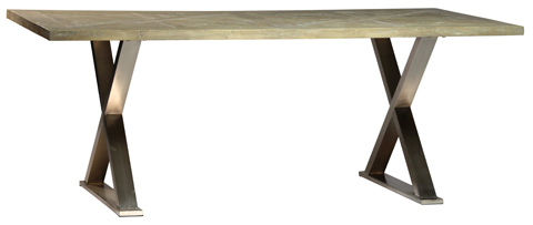 Dovetail Furniture - Dining Table with Stand - DOV762
