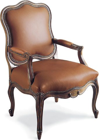 Drexel Heritage - Monica Leather Arm Chair - L331-CH