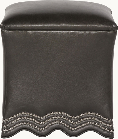 Drexel Heritage - Current Leather Ottoman - L831-OT