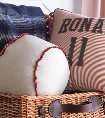 Eastern Accents - Greer Linen Baseball Pillow - EHA-11