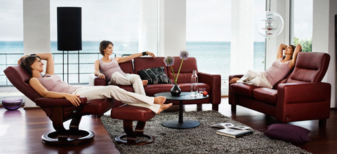 Ekornes - Stressless Wave Low Back Chair - 1184010