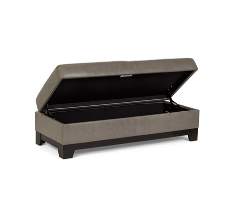 Elite Leather Company - Century City Storage Bench - 22000SB-O