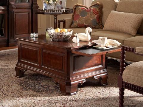 Fine Furniture Design - Stafford Storage Cocktail Table - 1020-910