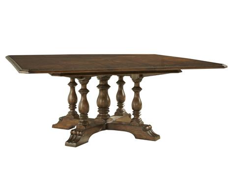 Fine Furniture Design - Hunt Club Square Dining Table - 1343-818/819