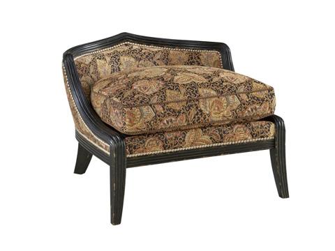 Fine Furniture Design - Comtesse Ottoman - 3905-04DC-1347-V10