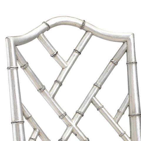 French Heritage - Moselle Side Chair in Silver - M-2528-201-SLV