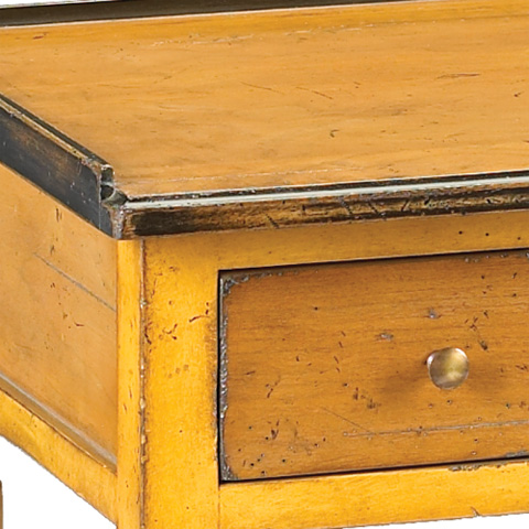French Heritage - Accent Table in Yellow - M-FL41-088-YEL