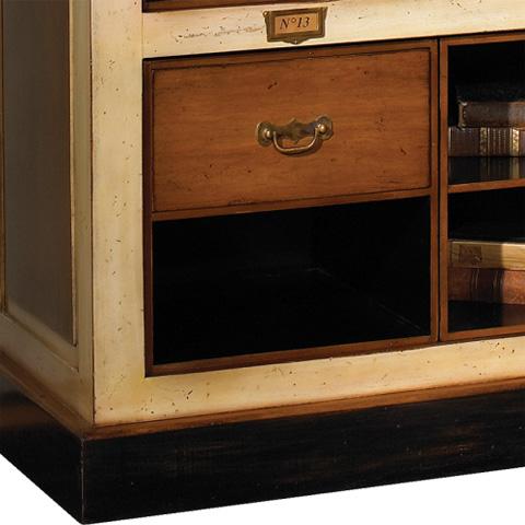 French Heritage - Archivist's Bookcase - M-FL49-806-BEI