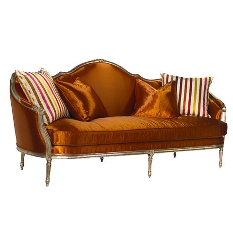 French Heritage - Cybil Wood Framed Sofa - U-3070-0896