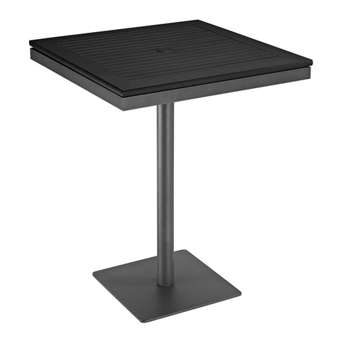 Gloster - Azore Square Pedestal Bar Table - 5547