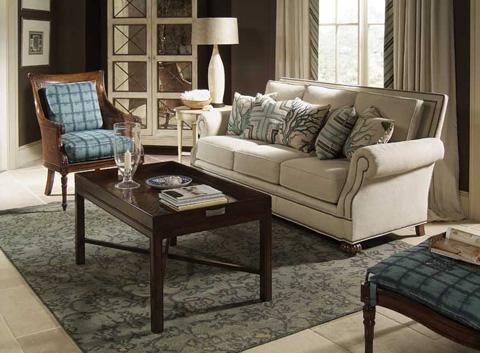 Harden Furniture - Roll Arm Straight Back Sofa - 8646-090