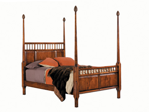 Harden Furniture - Ausable Poster Bed - 1608-5/0