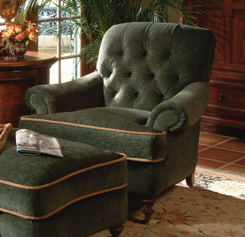 Harden Furniture - Tufted Back Arm Chair - 7447-000