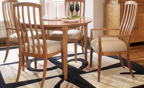Harden Furniture - Dighton Dining Arm Chair - 756
