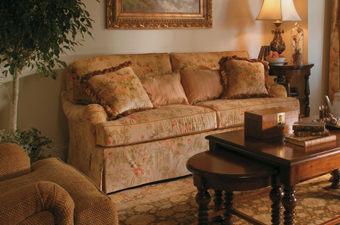Harden Furniture - Charles of London Love Seat - 7607-060