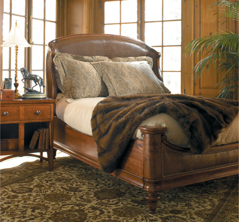 Harden Furniture - King Ogden Upholstered Bed - 1612-6/6